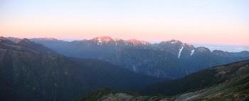 2011年9月24日後立山の夜明け.jpg